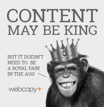 Web content is king